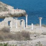 site de Khersones en Crimée