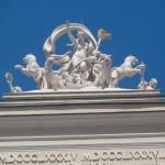 fronton de l'opéra d'odessa