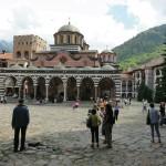 le monastère de Rila.