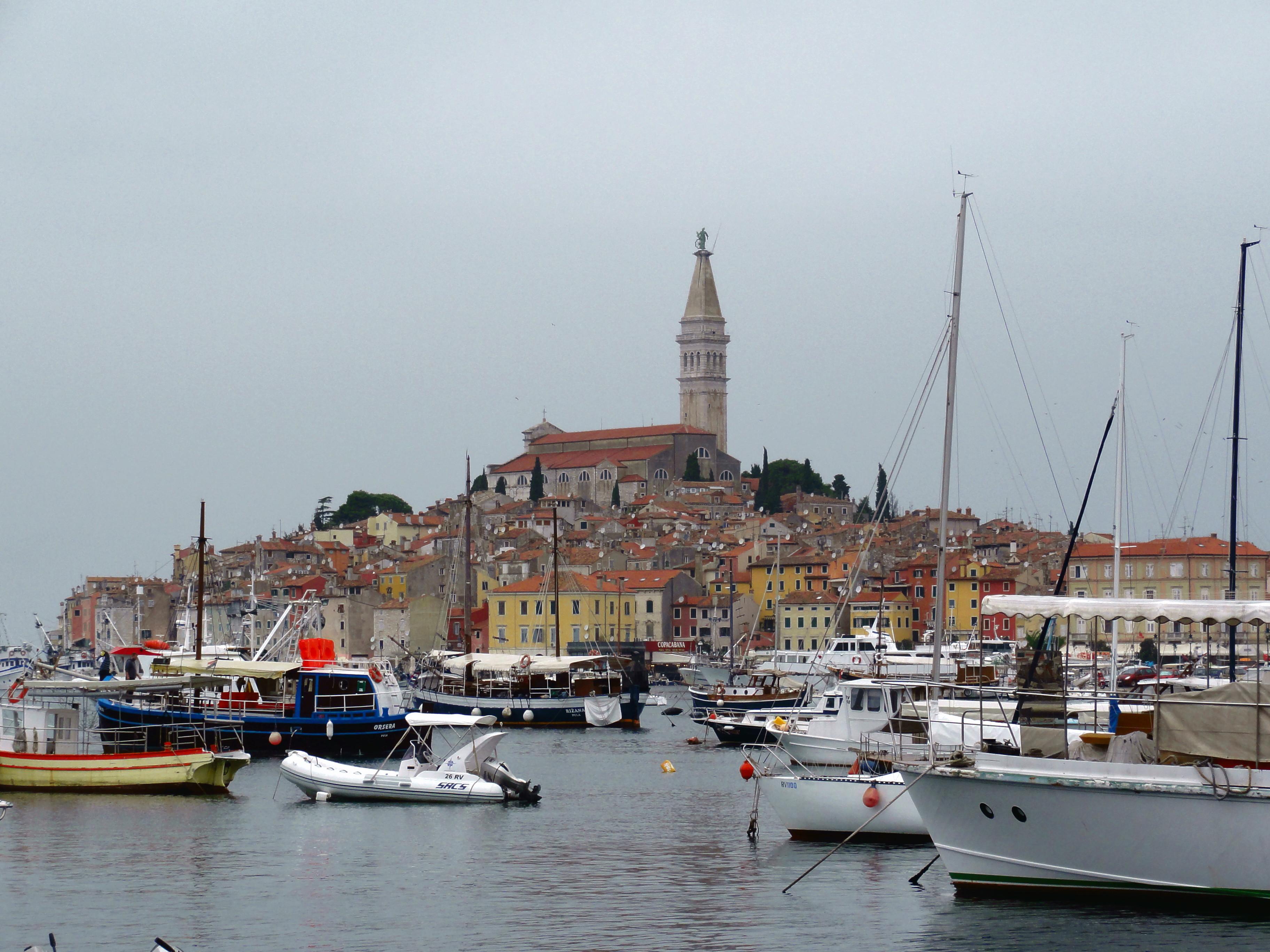 Croatie, une vue sur Rovinj