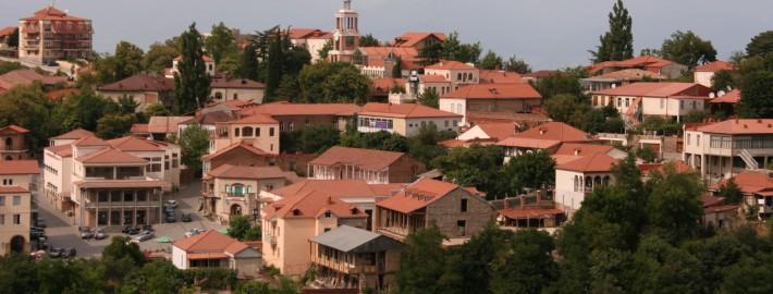 la ville de Sighnaghi