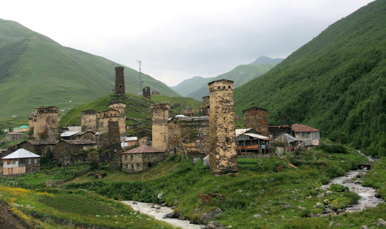 village d'ushguli