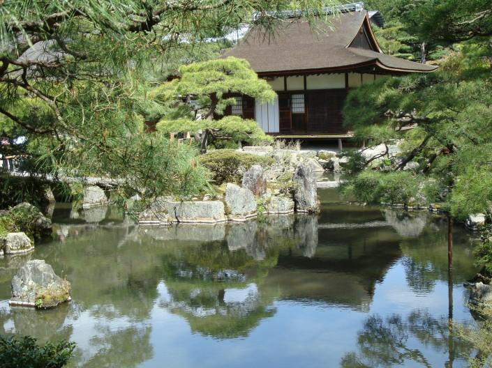 Le temple d'Argent à Kyoto