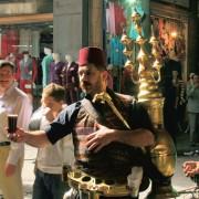 vendeur de thé à Damas